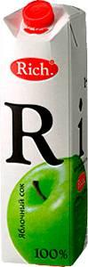 Сок яблочный 1 л